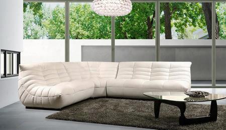 Vgbnb240b Divani Casa Contemporary Leather Sectional