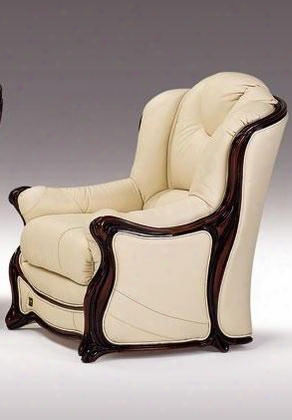 Vgdihelenechair Helene Collection Cream Leather