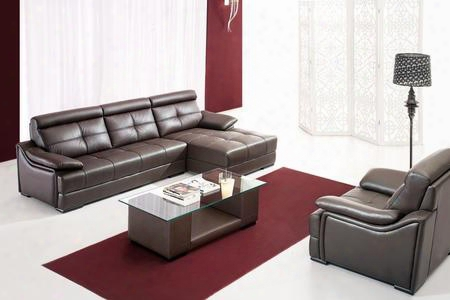 Vgdm2937 Modern Bonded Leather Sectional Sofa And