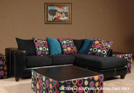 201056-sec Lauren 2 Pc Sectional With Left Arm Facing Sofa Right Arm Facing Chaise Toss Pillows Zippered Cushions And Fabric Upholstery In Elpaso