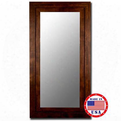 "258609 60"" X 87"" Mocha Walnut Grande Framed Wall"
