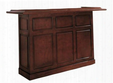 "Lexington Series 600011et 72"" Home Bar Withopen S Helves And Removable Ice Storage And Bottle Wells In English Tudor"