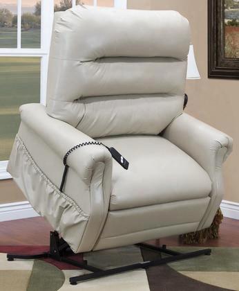 3653-iv Three-way Reclining Lift Chair - Apollo - Ivory