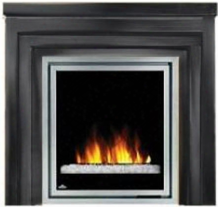 """Efmm30gk Electric Fireplace With """"metro"""" Mantel Thermostatic Control Easy Access On/off Switch 7 Different Flame Adjustments Pre-wired For Optional"""