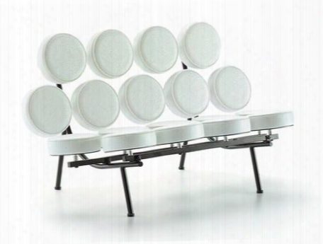 Fmi1121-white Circle Sofa