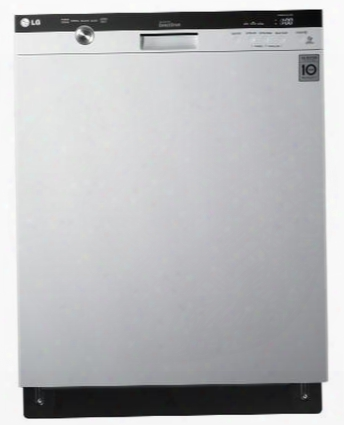 "Lds5540ww 24"" Semi-integrated Dishwasher With Flexible Easyrack Plus System 48 Dba Lodecibel Operation Smartdiagnosis System 14 Places Settings Senseclean"