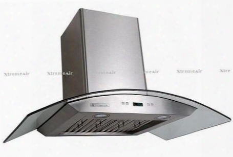 "Px01-w36 36"" Canopy Pro Style Wall Mount Ducted Range Hood With 900 Cf M4 Speed Heat Touch Sensitive Electronic Control Led Lighting A Whole  With Lcd Display"