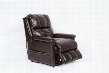 CHAUCER-CH Chaucer 3 Way Lift Chair in Spade Brown with Bonded