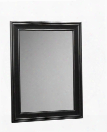 "606124-b01 24"" X 32"" Traditional Style Wood Framed Mirror: Antique"
