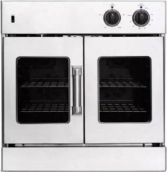 """Arofe-30 30"""" Legacy Series French Door Electric Single Wall Oven With 4.7 Cu. Ft. Capacity Innovection Convection 2 Oven Racks Porcelain Interior In"""