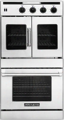 "Arofse-230 30"" Legacy Series Top French Door Double Electric Wall Oven With 9.4 Cu. Ft. Total Capacity Innovection Convection Manual Clean And 4 Oven Racks"