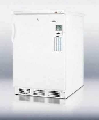 Vt65ml7bimed Medical Series 3.2 Cu.ft. Capacity Under Counter Medical All-freezer Commercially Approved Factory Installed Lock Manual Defrost Reversible