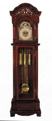 01430 Plainville Grandfather Clock