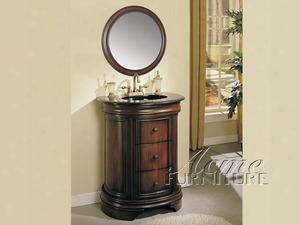 06926 Tayside Sink Cabinet Black
