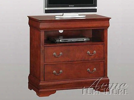 08555 Louis Philippe Tv Armoire In