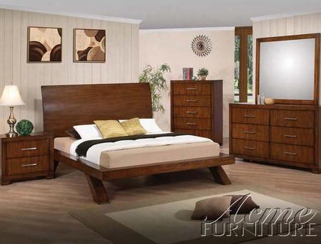 20235 Galleries 6 Drawer Dresser In Brown