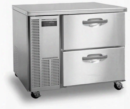 "Hwf40a-d 41"" Professional Series Worktop Freezer With 8.5 Cu. Ft. Capacity Evercheck System Stainless Steel Interior And Exterior 115 Volts 14 Gauge"