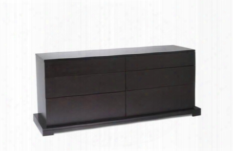 950-6d-dr-cp Zurich Series 6 Drawer Double Dresser In