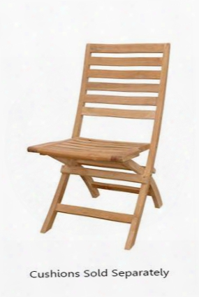 "Andrew Collection Chf-108 Set Of (2) 19"" Folding Chair In Natural"