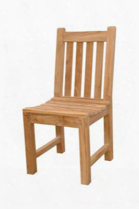 "Classic Chd-037 17"" Dining Chair In Natural"