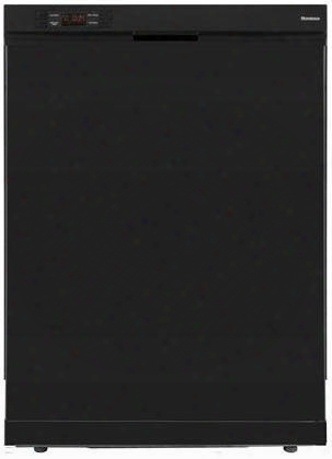 """D2w4100b 24"""" Full Console Built-in Dishwasher With 4 Wash Cycles Quiet 52 Dba 12 Place Settings 3-way Euro Filter System And Energy Star Rated In"""