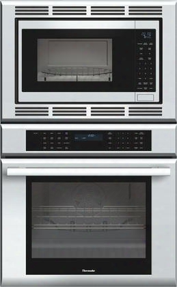 "Medmc301js 30"" Star-k Certified Masterpiece Series Built-in Combination Wall Oven With 4.7 Cu. Ft. Oven Capacity 1.5 Cu. Ft. Microwave Capacity Self-clean"