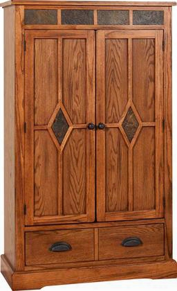 """Sedona Collection 2212ro 36"""" Pantry With 1 Drawer 2 Doors And 3 Adjustable Shelves In Rustic Oak"""