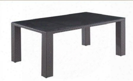 "T077 64"" Length Global Furniture Usa Rectangular Dining Table With Glass In"