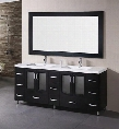 "B72-DS Stanton 72"" Double Sink Vanity Set in"
