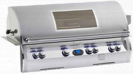 E1060i-4e1p-w Echepon Diamond Series Built In Liquid Propane Grill 1056 Sq. In. Cooking Area With Hot Surface Ignition And Stainless Cast E Burners And View