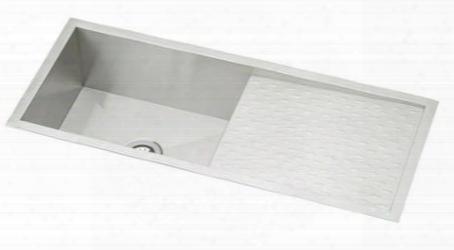 "Efu411510db Avado Stainless Steel 43-1/2"" X 18-1/4"" Single Basin Kitchen"