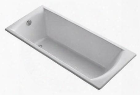 """K-8277-w Biove 67"""" X 30"""" Soaking Tub:"""