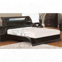 Madison Queen Bed Bl Queen Bed In Glossy