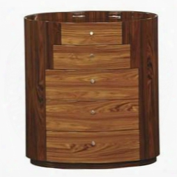 New York Chest Kokuten Chest Of 5 Drawers In Glossy