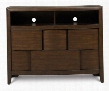 Y1876-36 Twilight Next Generation Youth Media Chest in Chestnut