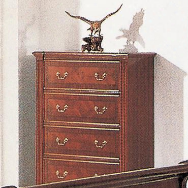 2805ch Audrey 5 Drawer Chest In A Cherry