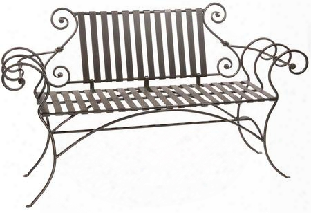 901-031 Waterbry Iron Bench 63