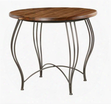 902-868-dpn Bella Ice Cream Table With Distressed