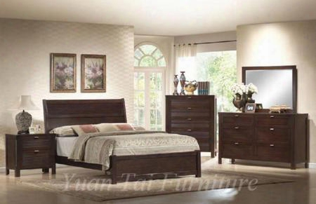 Am7901k Amherst King Bed In Espresso