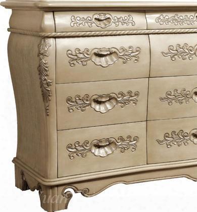 Av3137dr Avignon 12 Drawer Dresser In Antique White
