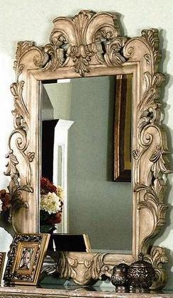 Ca7906m Cannes Mirror In Whitewash