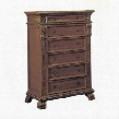 1805CH Bailey 6 Drawer Chest in Red Cherry