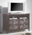 AM7908MC Amherst Wood Media Chest in Espresso