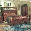 MR9301K Marriott King Bed in Brown Cherry