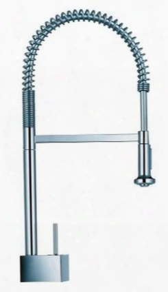 10820001 Axor Sta Rck Pre Rinse Kitchen Faucet With Spring Spout: