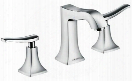 31073821 Widespread 3 Hole Bathroom Faucet From The Metris C Collection: Brushed