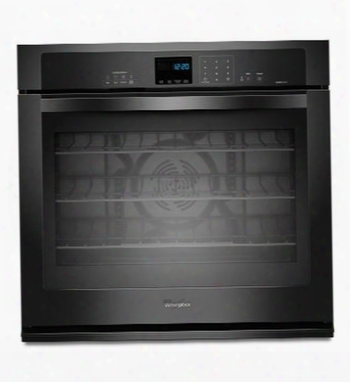 """Gold Wos92ec0ab 30"""" 5.0 Cu. Ft. Single Wall Oven With Steamclean Option Accubake Temperature Management System Timesavor Ultra True Convection Cooking System"""
