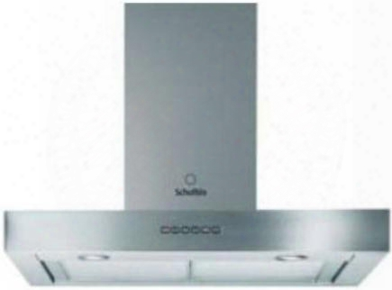 """Hsb368ixna 36"""" Chimney Wall Mount Hood With 560 Cfm Internal Blower Adjustable Motor Soft Touch Electronic Controls Three Speeds Two Halogen Lights"""