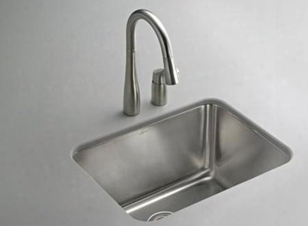 "K6661 21"" Undertone Undercounter Utility Sink: Stainless"