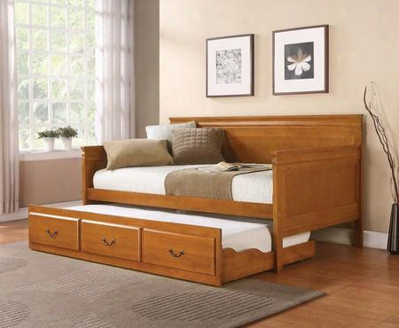 Louis Philippe Collection 300036oak Twin Size Daybed In Oak